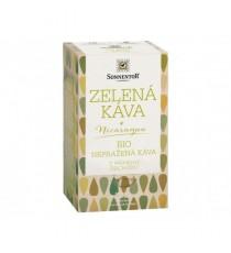 BIO Zelená káva, nepražená 18 x 3 g SONNENTOR
