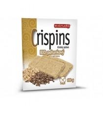 Bio Cereální křehký chléb Crispins pohankový 2x50 g EXTRUDO