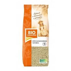 Rýže dlouhozrnná natural BIO 25 g BIOHARMONIE