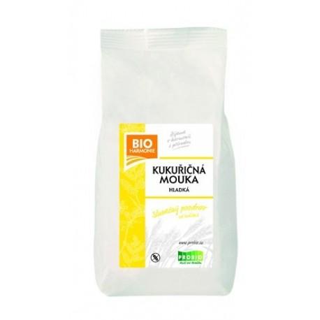 Kukuřičná mouka hladká 450 g BIOHARMONIE
