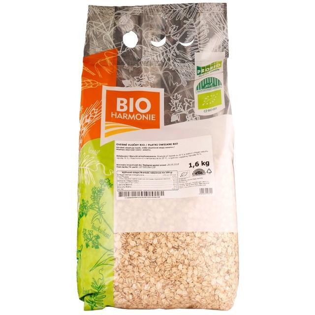 Ovesné vločky BIO 1,6 kg BIOHARMONIE