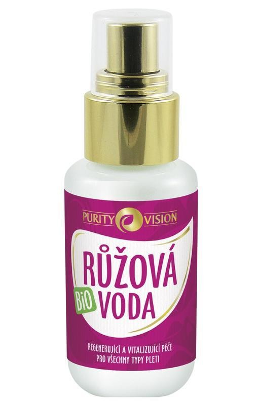 Růžová voda BIO 50 ml PURITY VISION