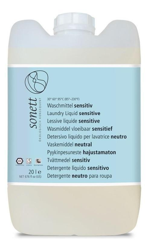 Prací gel - Sensitive 20 l SONETT
