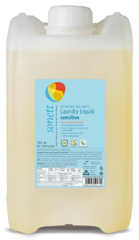 Prací gel - Sensitive 10 l SONETT
