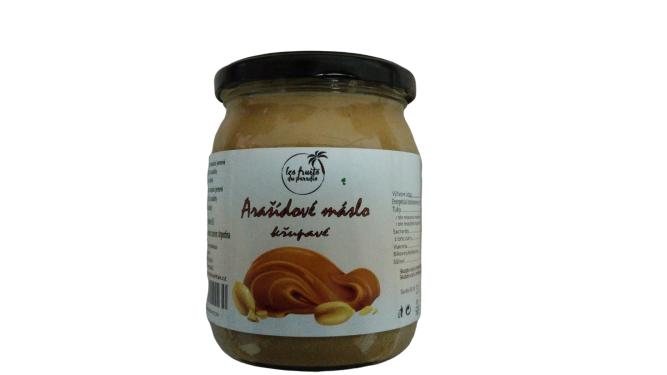 Arašídové máslo CRUNCHY 500 g Les Fruits du Paradis