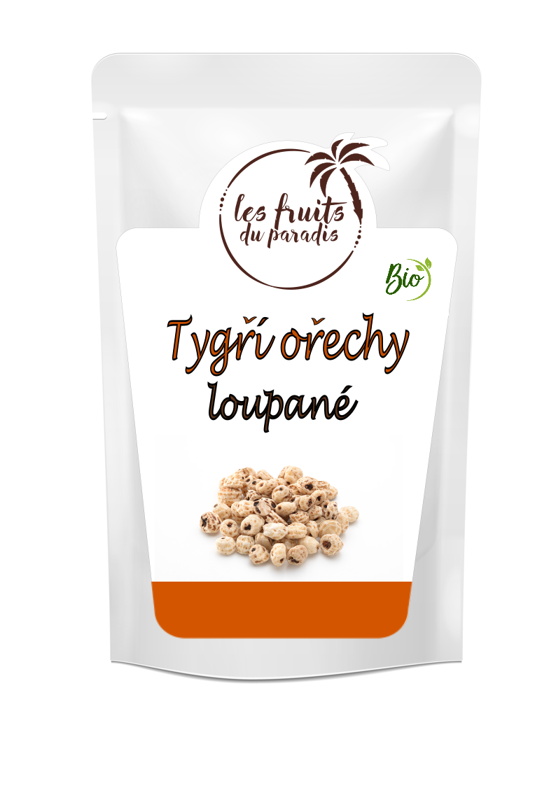 Tygří ořechy loupané BIO 150 g Les Fruits du Paradis