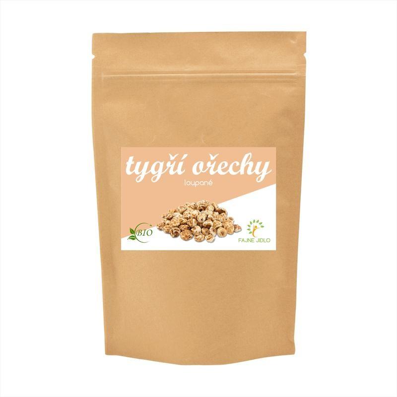 Tygří ořechy loupané BIO 150 g FAJNE JIDLO