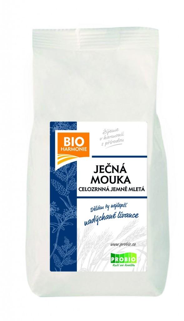 Ječná mouka celozrnná jemně mletá BIO 25 kg BIOHARMONIE