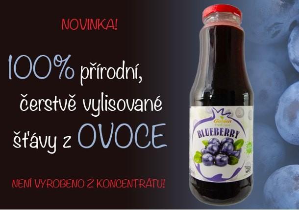 100% ovocné šťávy Georgian Nectar