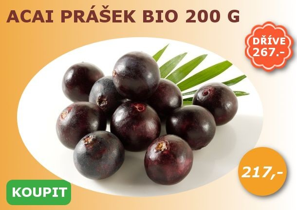 Acai prášek BIO 200 g Les Fruits du Paradis