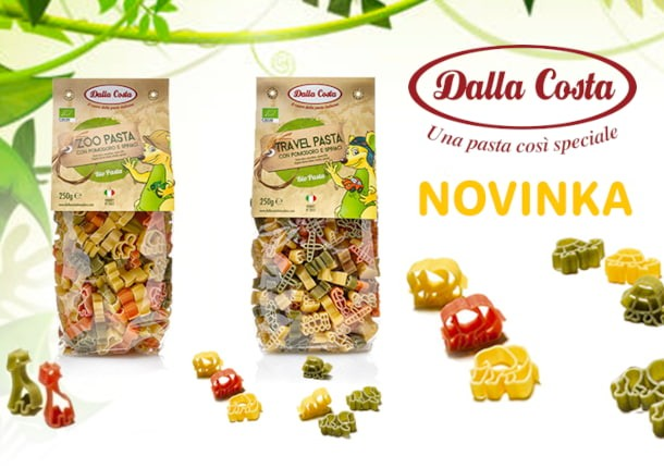 Italské BIO těstoviny Dalla Costa