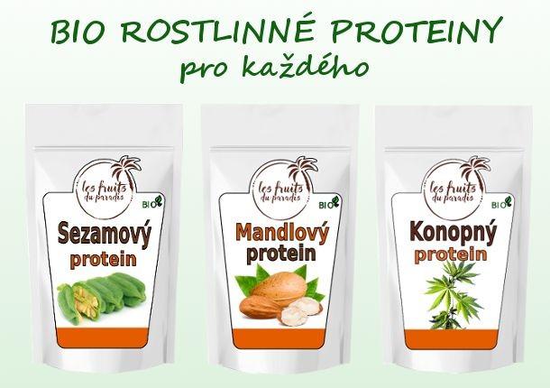 Rostlinné proteiny